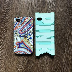 Vera Bradley and VS Pink iPhone 4 cases